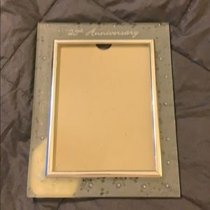 Beautiful glass picture frame